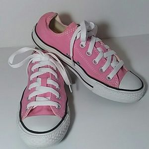 NEW CONVERSE ALL STAR PINK SIZE M - 5  L - 7